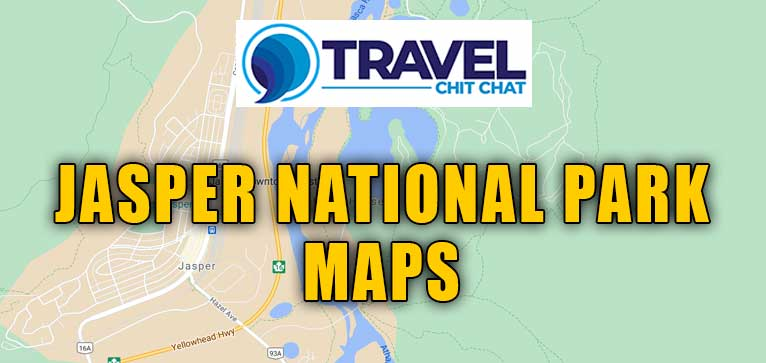 jasper national park maps