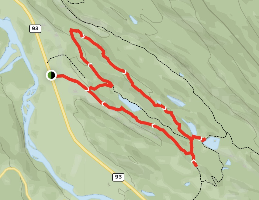 Buffalo Prairie - Antler Ridge Map