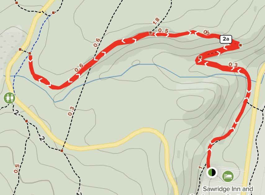 Cottonwood Creek Trail Map