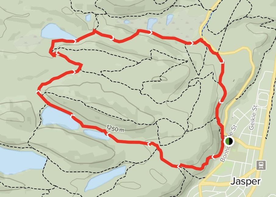 Mina Riley Loop Map