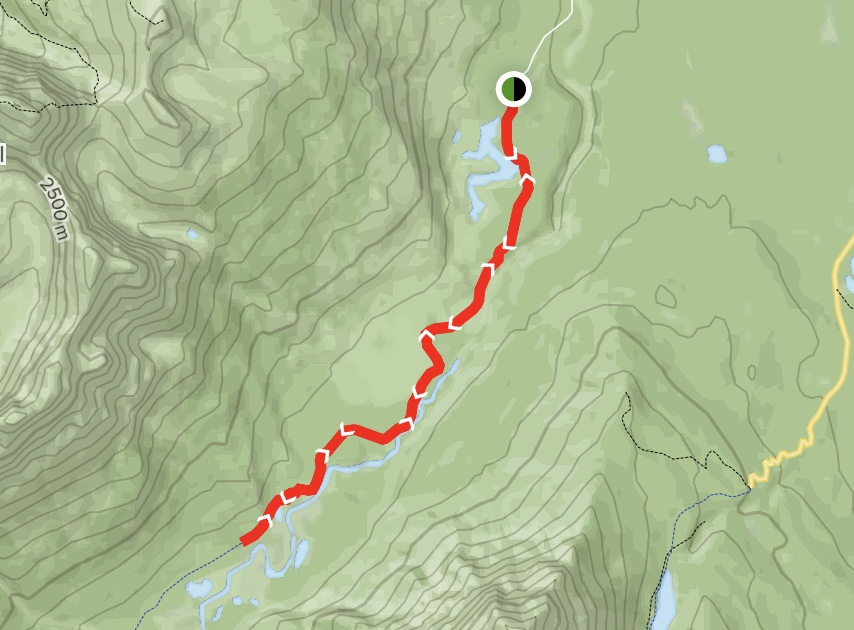 Whirlpool Valley Fire Trail Map