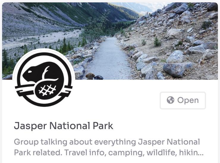 jasper national park group