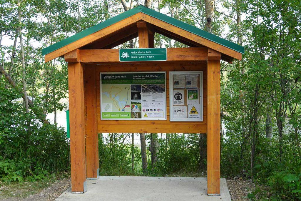 Amisk Wuche Trail Elk Island National Park