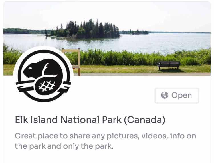 elk island national park group